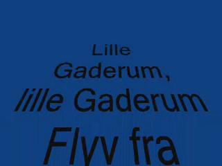 2007-10-11 Lille Gaderum. Med tekst